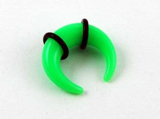 XX-Body Piercing Stretcher Claw Green Neon 5mm