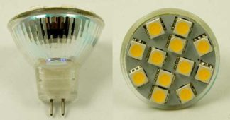 LED Bulb MR11 12 SMD White
