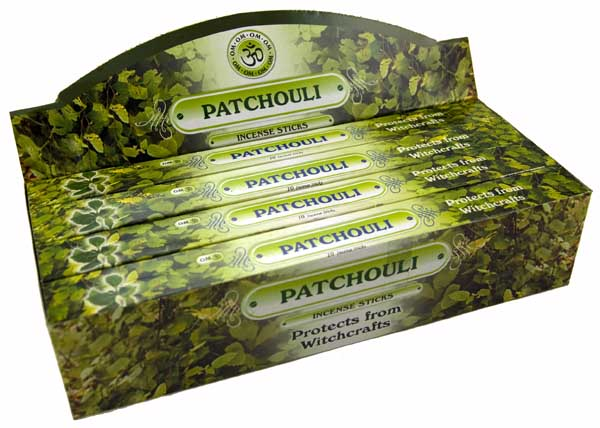 Incense Stick Patchouli 24 Packs **BUY 3 BOXES FOR £2.00 EACH**