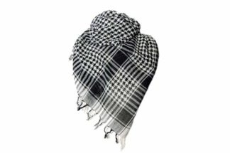Scarf Arab P.L.O. Black *6pcs For 80p Each*