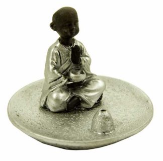Monk Incense Tray 6.2X6.2X6.8cm
