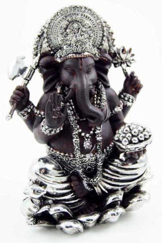Ganesh Sitting 11.5X9X16cm