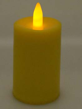 Candle Smart Yellow 9cm 5pcs