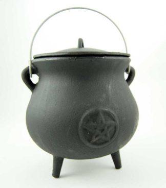 Cauldron With Pentagram H21cm