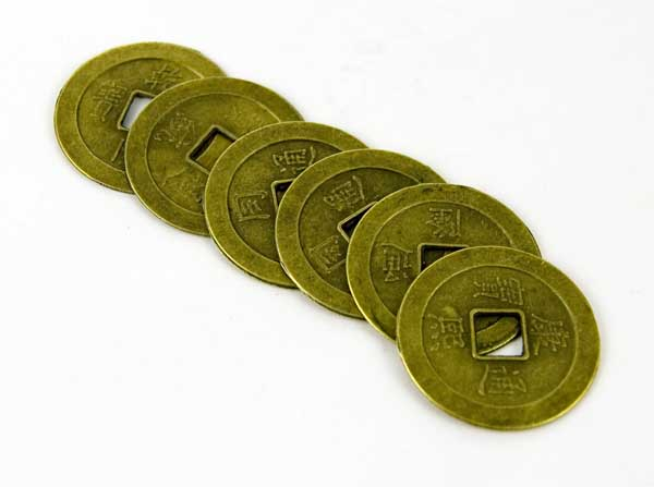 Chinese Coins 6pcs
