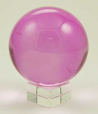 Crystal Ball Pink 80mm