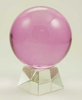 Crystal Ball Pink 100mm