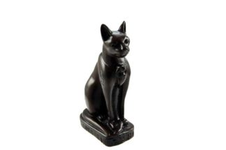 Egyptian Cat On Base 15cm