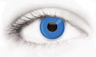Fashion Eye Accessory Uv Blue (With Free Solution And Case)