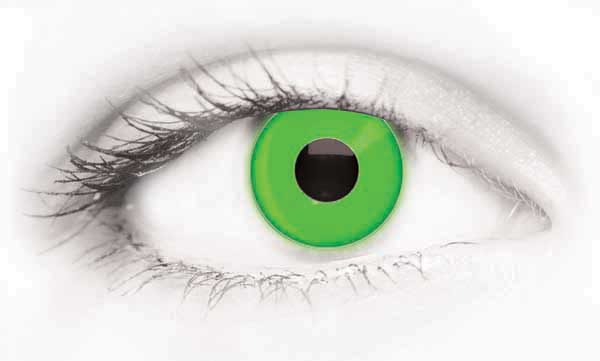 Fashion Eye Accessory Uv Green (With Free Solution And Case)