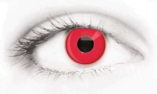 Fashion Eye Accessory Uv Red (With Free Solution And Case)