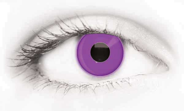 Fashion Eye Accessory Uv Violet (With Free Solution And Case)