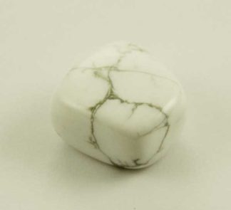 Tumble Stone White Howlite 5pcs