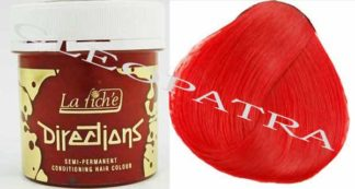 Directions Hair Colour 4 Tubs (Coral Red)