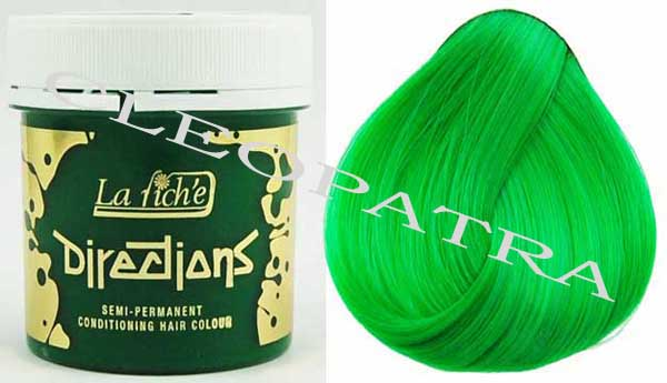 Directions Hair Colour 4 Tubs (Spring Green)