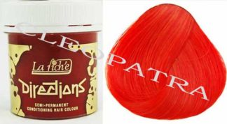 Directions Hair Colour 4 Tubs (Tangerine)