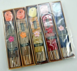 Incense Stick And Cone Set 5pcs