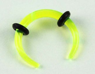 Body Piercing Stretcher Claw 2mm Yellow 3pcs In A Pack