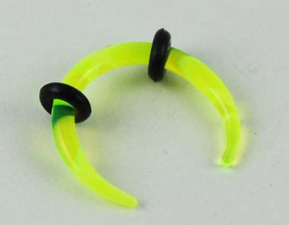 Body Piercing Stretcher Claw Green Marble 2mm 3pcs