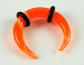 Body Piercing Stretcher Claw Orange 3mm 3pcs In A Pack
