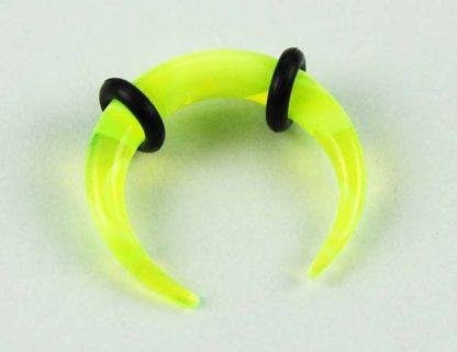 Body Piercing Stretcher Claw Yellow 3mm 3pcs
