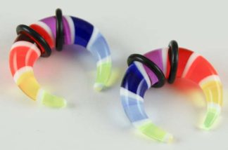 Body Piercing Claw Multi 8mm 2pcs
