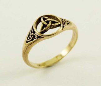 Ring Bronze Celtic Triad