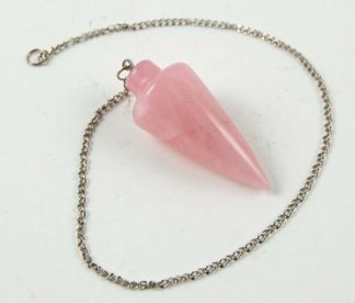Pendulum Rose Quartz