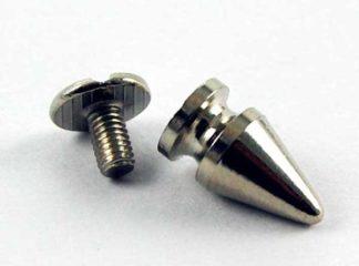 Stud Spike Rounded L1.5cm Screw Thread 2pcs