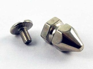 Stud Spike L1.5cm Screw Thread 2pcs