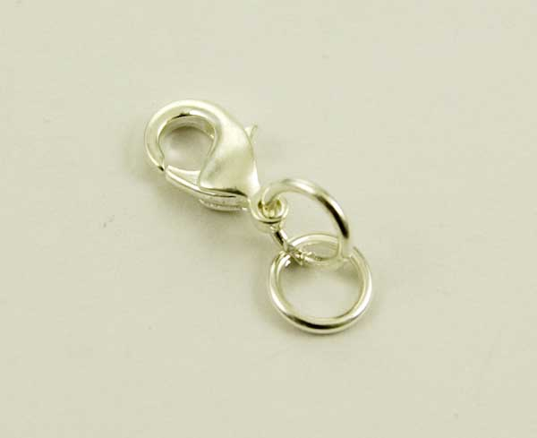 Silver Plated Jewellery Fastener 12pcs