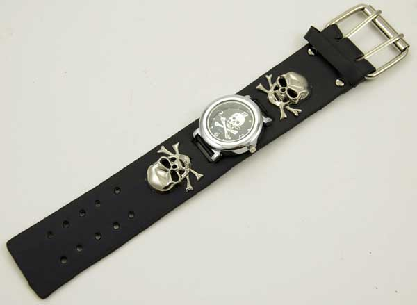 Watch With Double Skull & Crossbones