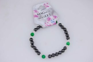 Bracelet Magnetic Green Cat Eye 3pcs