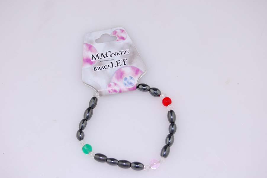 Bracelet Magnetic Mixed Glass 3pcs