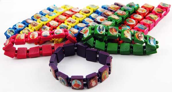 Bracelet Icon Assorted Colours 12pcs