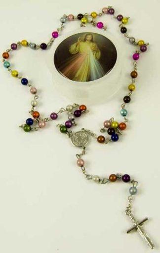 Rosary Bead Multi 6mm Beads