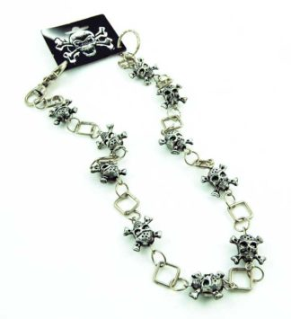 Chain With Skull And Bones