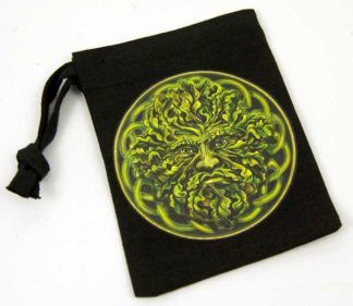 Bag Rune Green Man 10X13cm 4pcs