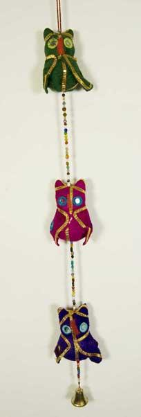 Puppet Owl String Velvet