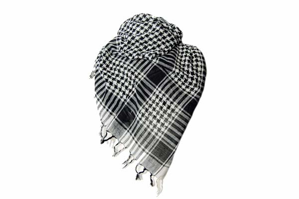 Scarf Arab P.L.O. Black