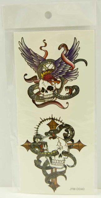 Tattoo Stickers Standard Design 1 (2pcs)