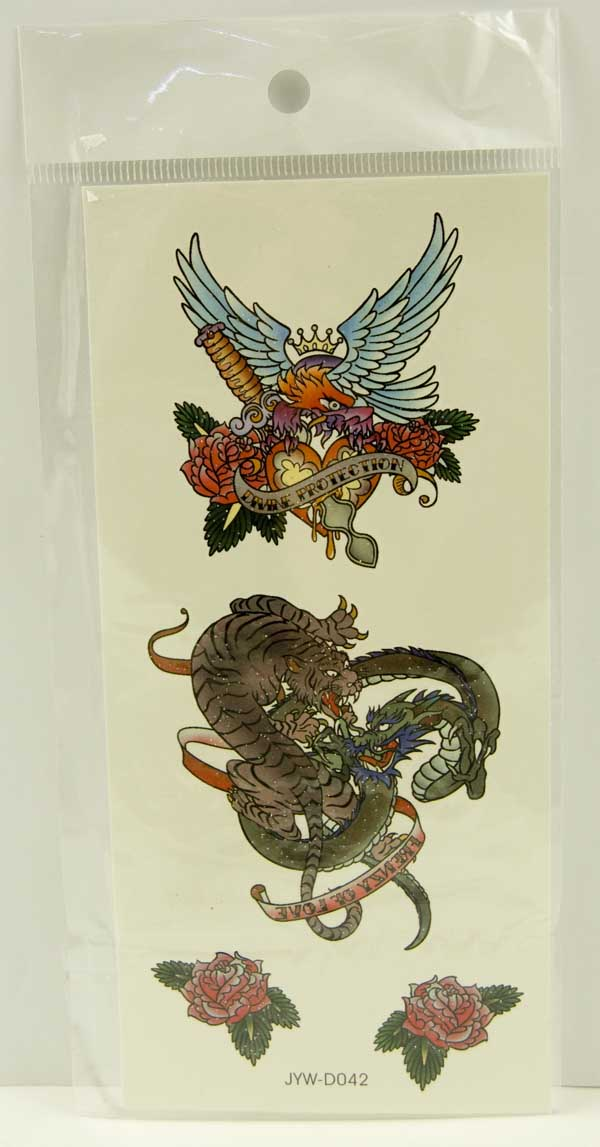 Tattoo Stickers Standard Design 11 (2pcs)