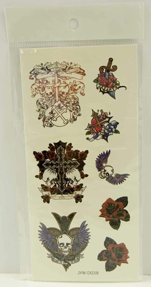 Tattoo Stickers Standard Design 3 (2pcs)