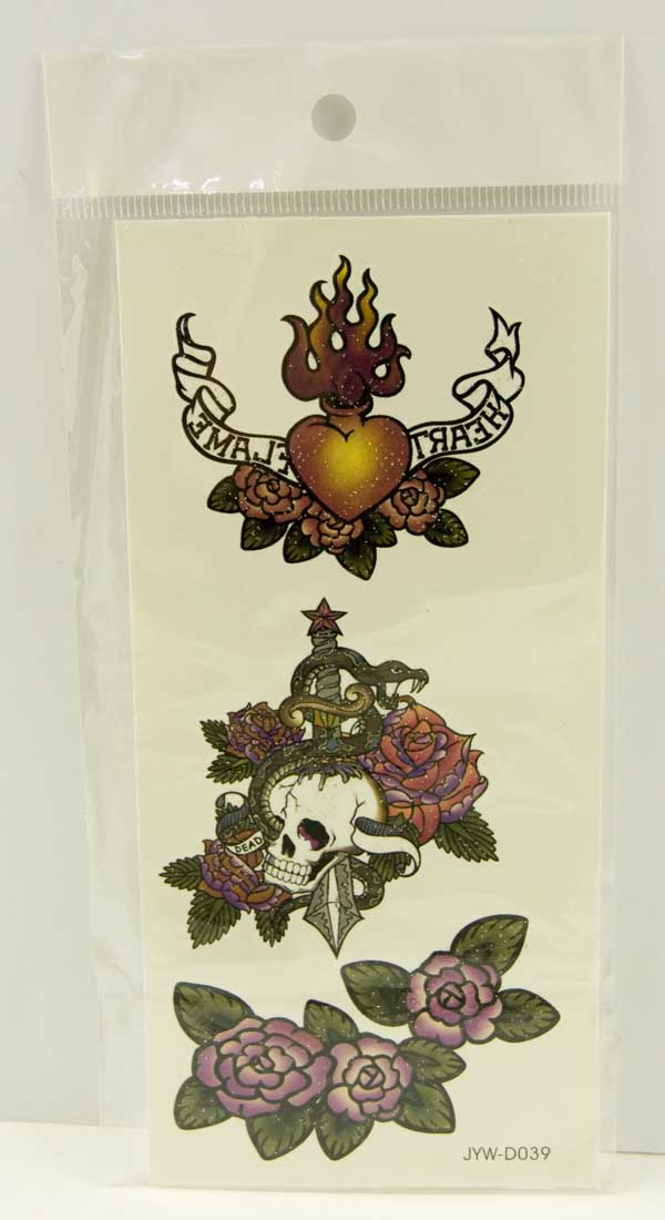 Tattoo Stickers Standard Design 5 (2pcs)