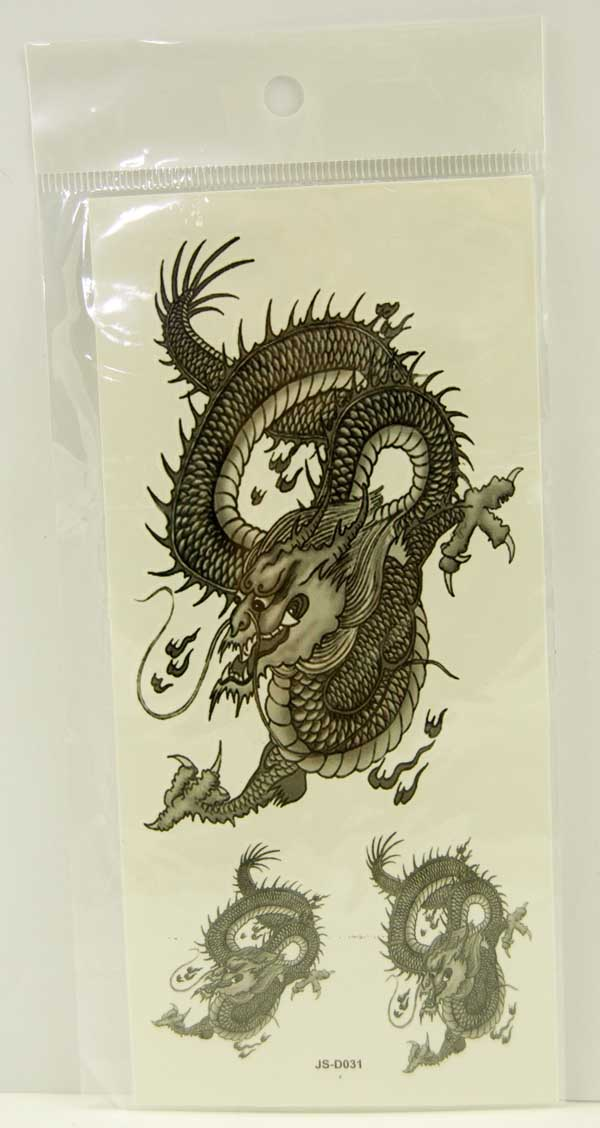 Tattoo Stickers Standard Design 6 (2pcs)