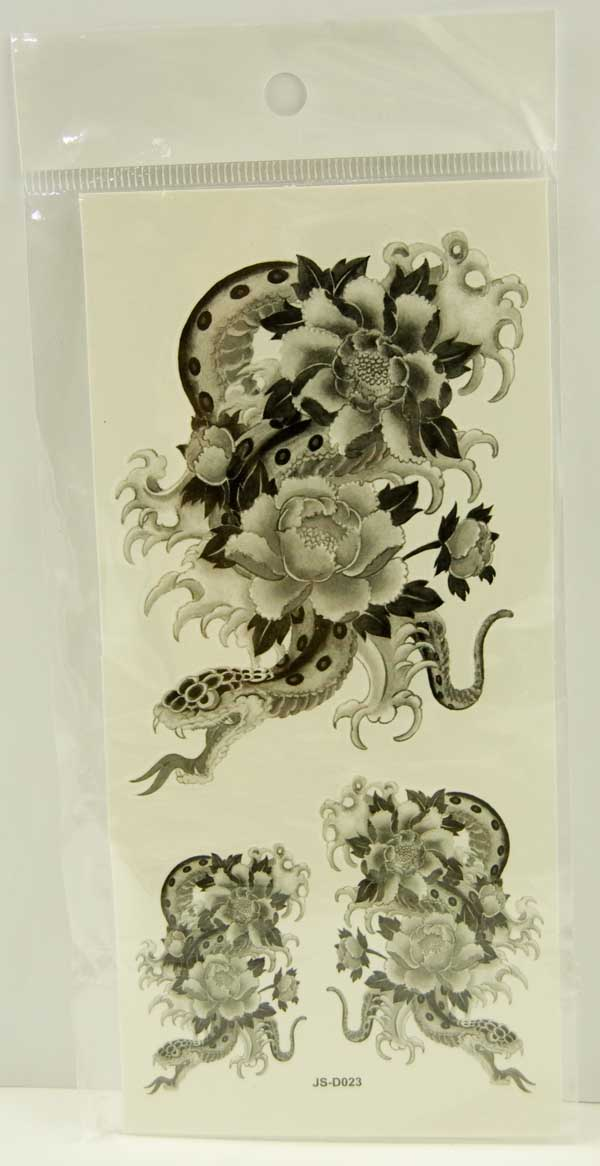 Tattoo Stickers Standard Design 7 (2pcs)