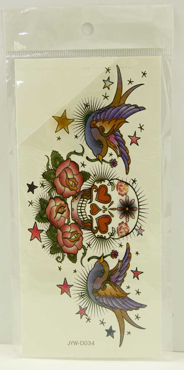 Tattoo Stickers Standard Design 9 (2pcs)