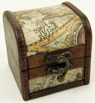 Box Wooden Chest 8X8X8cm