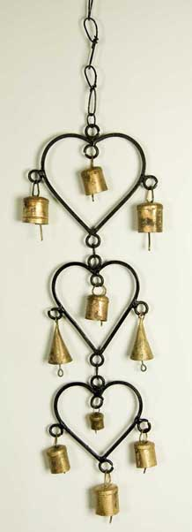 Decoration Hanging Hearts