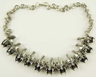 Necklace Stainless Steel Gladiator